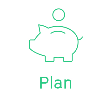 Tailored budget & savings plan - we start you on your journey to home ownership